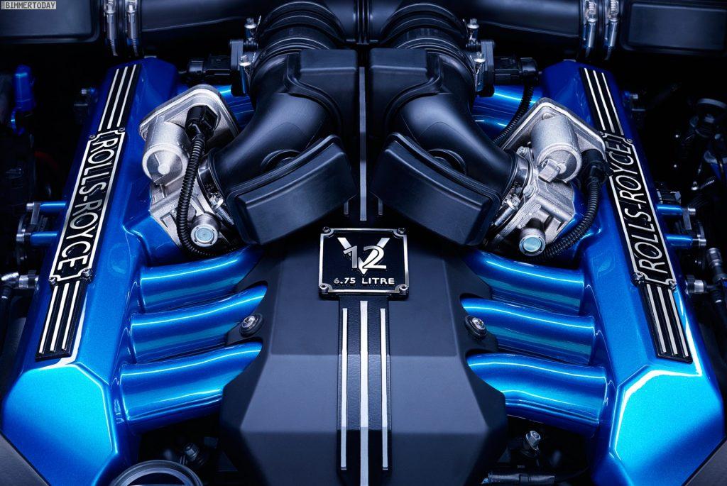 BMW M 760 Li двигатель