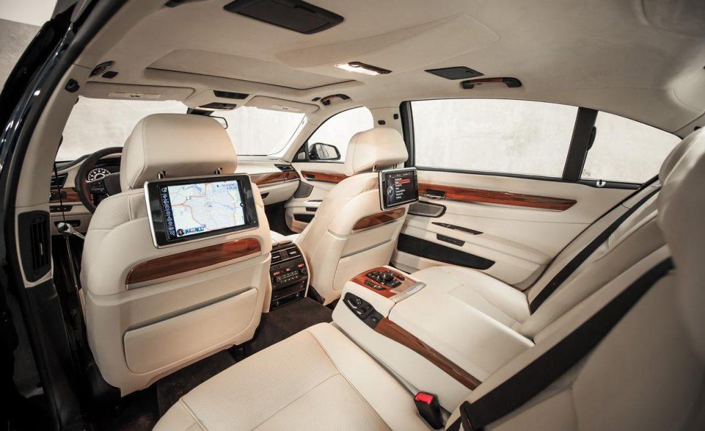 BMW M 760 Li салон